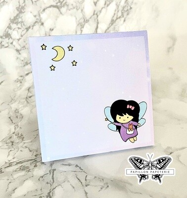 Limited Edition Mika+Michi Notepad: Celestial Fairy