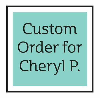 Custom Order for Cheryl P. ONLY - mask spray decals
