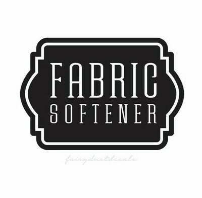 Fabric Softener Decal