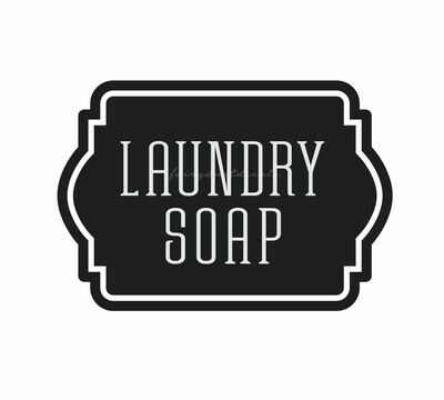 Laundry Soap Decal