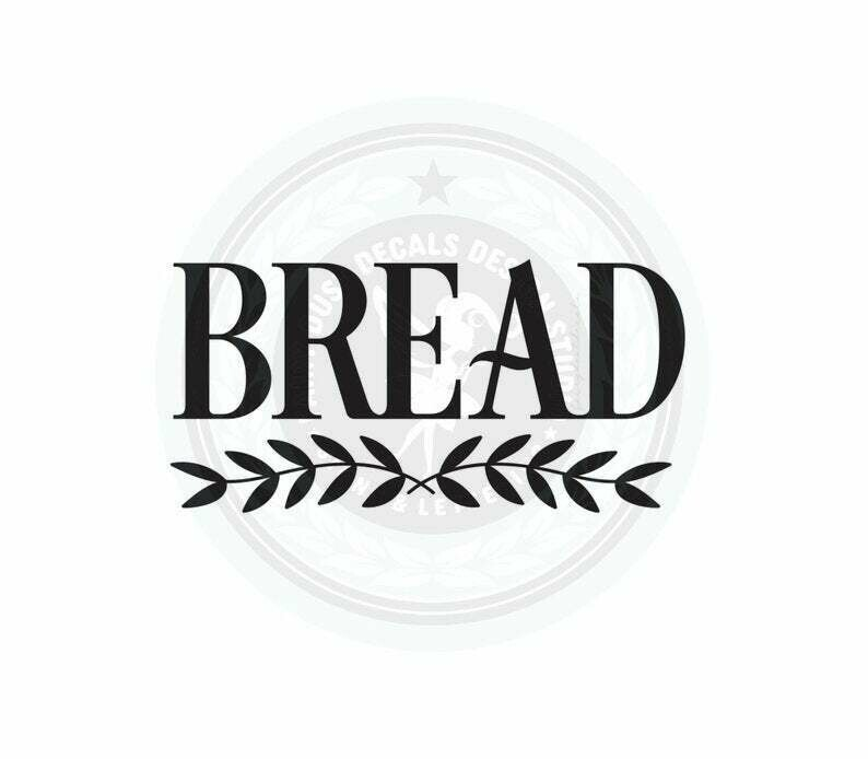 Bread Box Decal