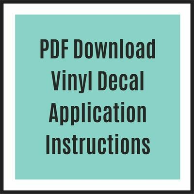 Decal Application Instructions PDF download