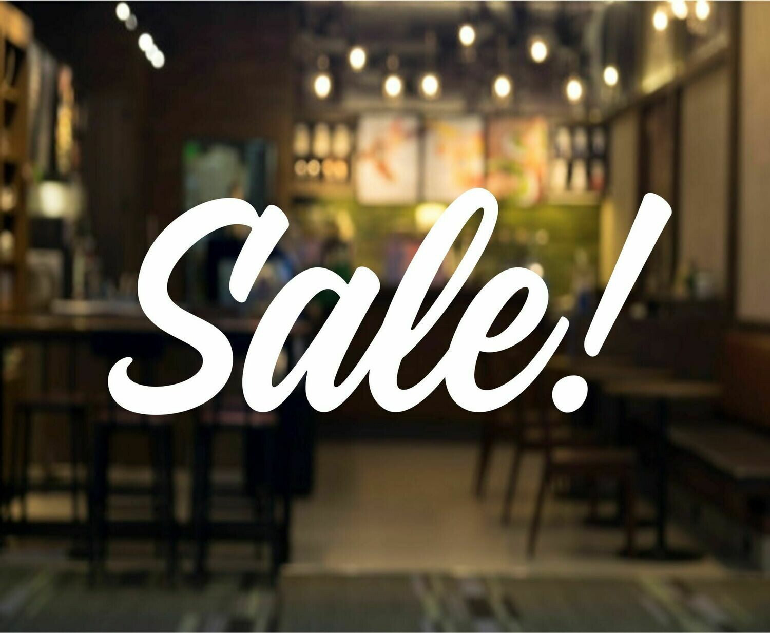 Sale Decal