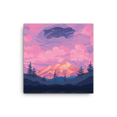 PURPLE NIGHT CANVAS