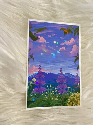 FLOWER MOON PRINT