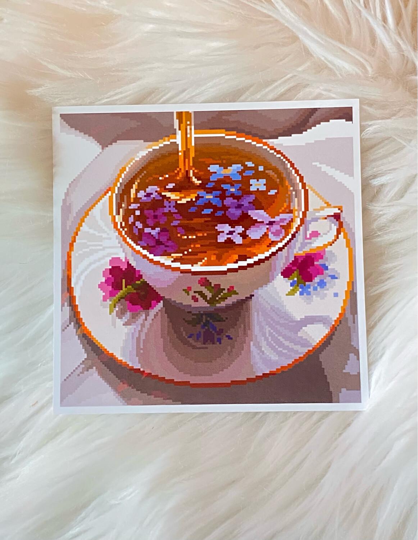 PURPLE TEA PRINT