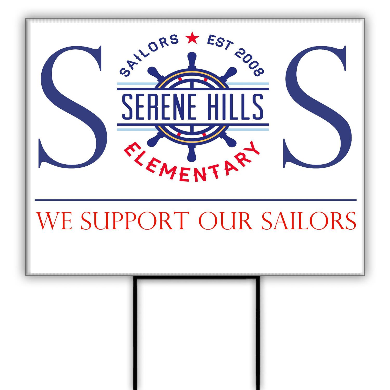 SOS Yard Sign