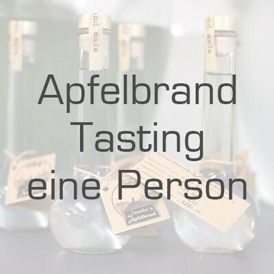 Ticket/Gutschein: Apfelbrand-Tasting (Mengenrabatt)