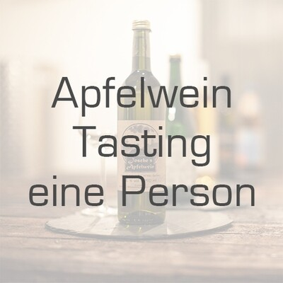 Ticket/Gutschein: Apfelwein-Tasting (Mengenrabatt)