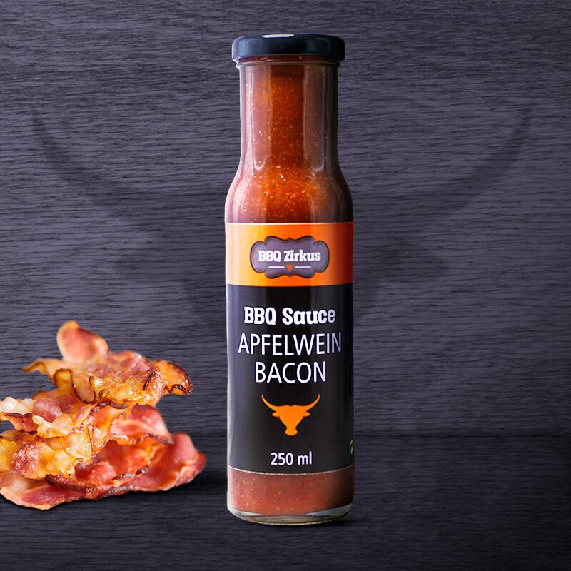 BBQ-Zirkus: Apfelwein-Bacon BBQ-Sauce