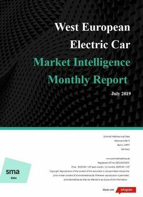 July YTD 2019 West European BEV Report
