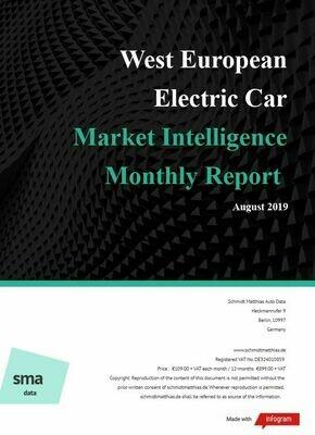 August YTD 2019 West European BEV Report