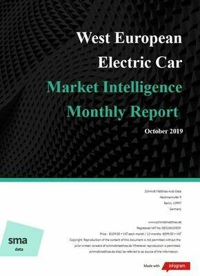 October 2019 West European BEV Report