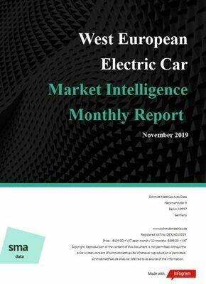 November 2019 West European BEV Report