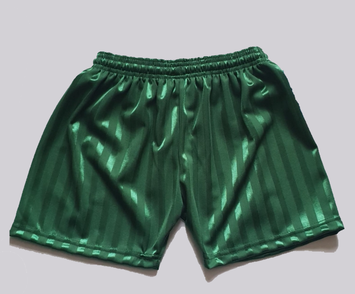 Green PE Shorts OUT OF STOCK  SIZE 7/8