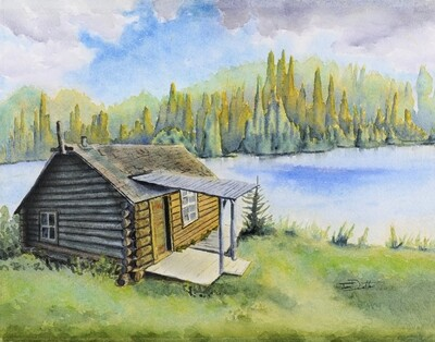 Grey Owl's Cabin, Prince Albert National Park