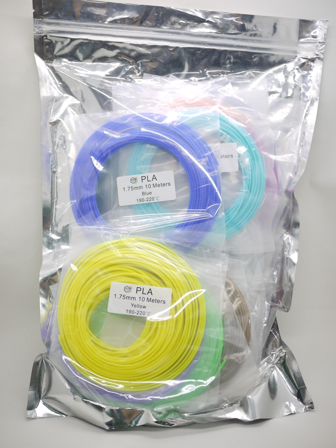 PLA Filament 20 colors pack (10m x 20 Colors)