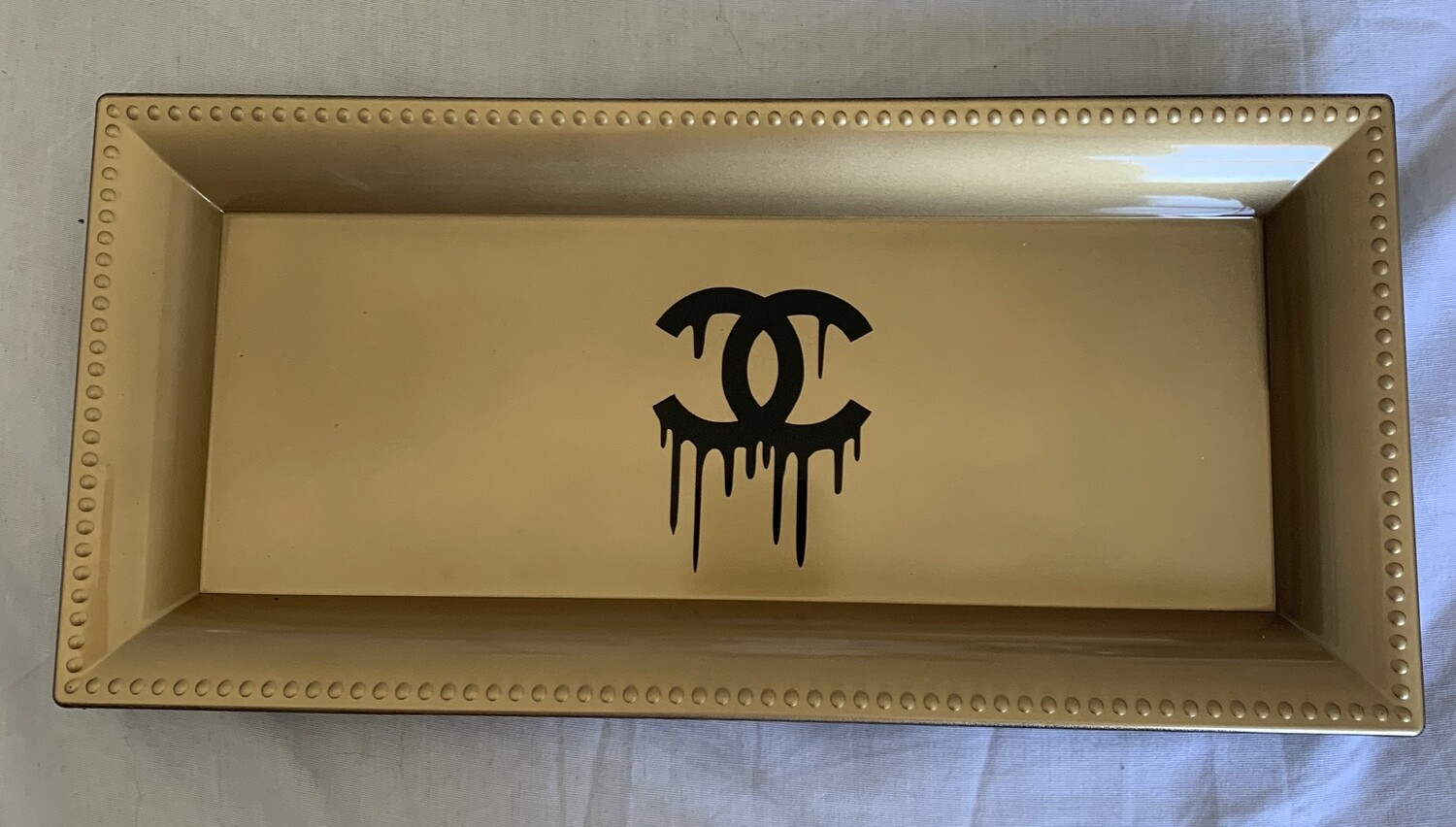 Cc inspired tray (GOLD)
