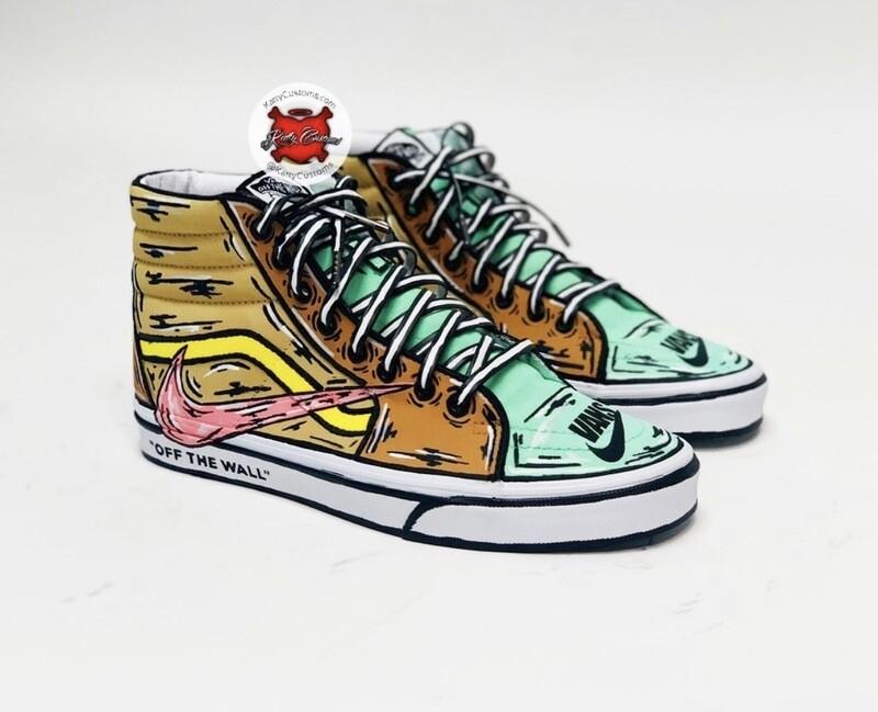 Cartoon VANS/Nike