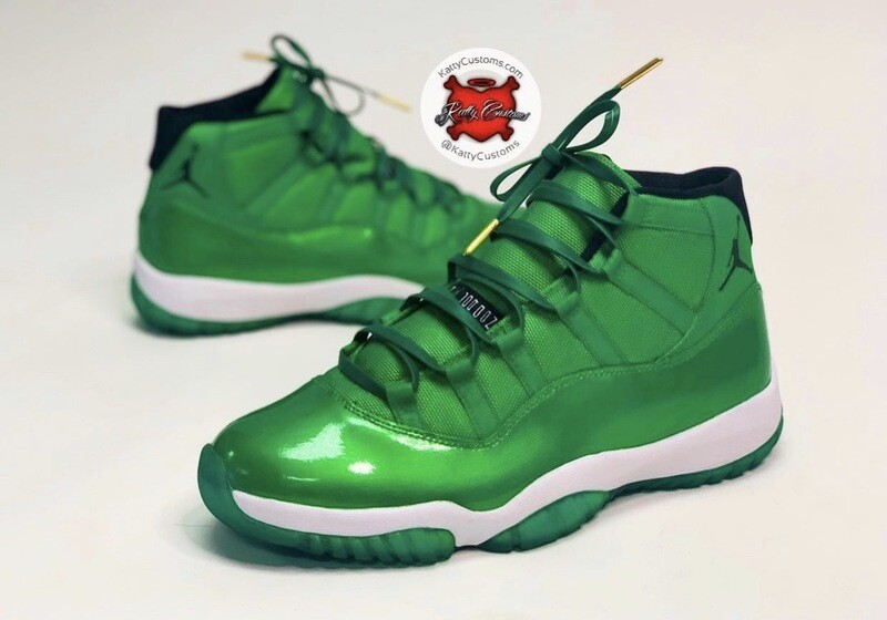 Sour Apple Jordan 11s
