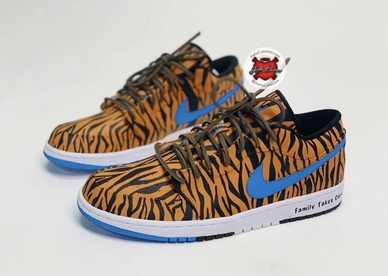 Tiger Print Jordan 1 Low