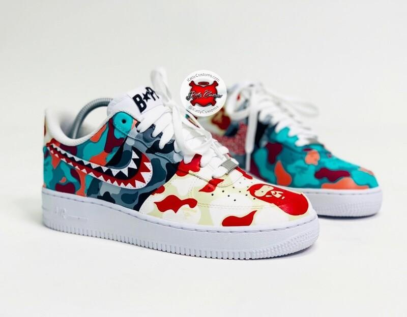 Katty/Bape Nike AF1