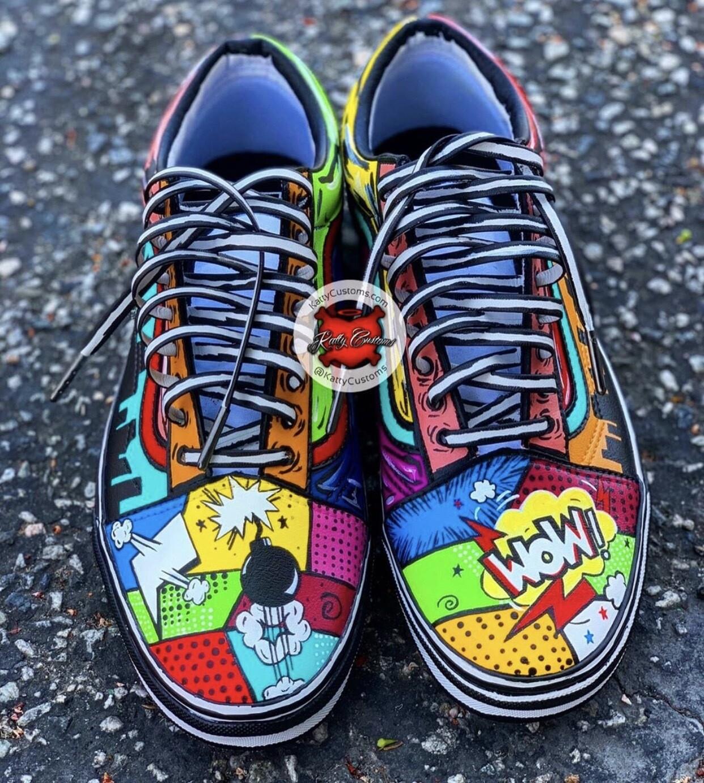 Comic Book Vans