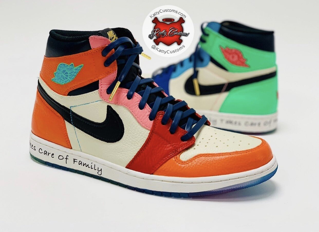 Colorful Katty Jordan 1