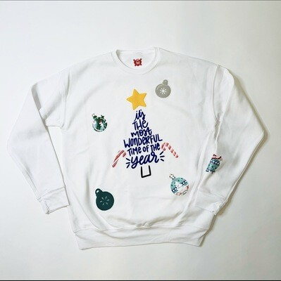 """It's The Most Wonderful Time Of The Year"" Xmas Sweater"
