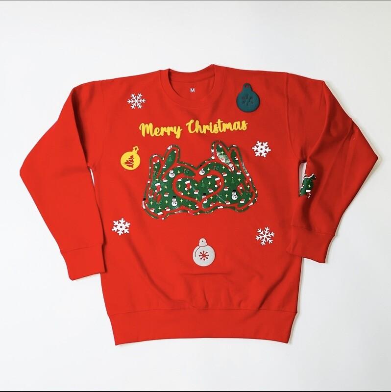 """""""Merry Christmas"""" Xmas  Sweater"""