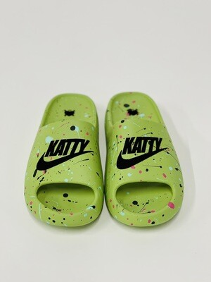 GLOW in the DARK - Splats / Katty Slides