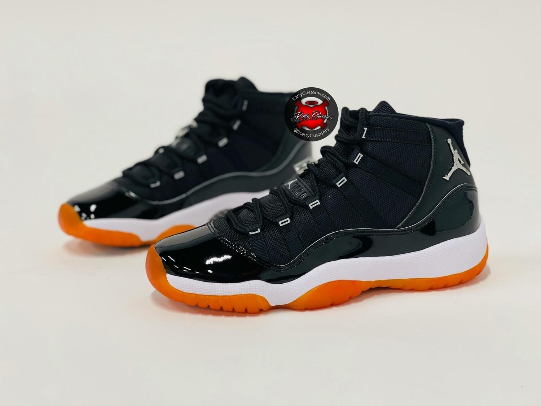 Orange Sole Jubilee Jordan 11s