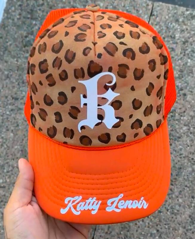 Katty Lenoir Leopard Trucker Hats