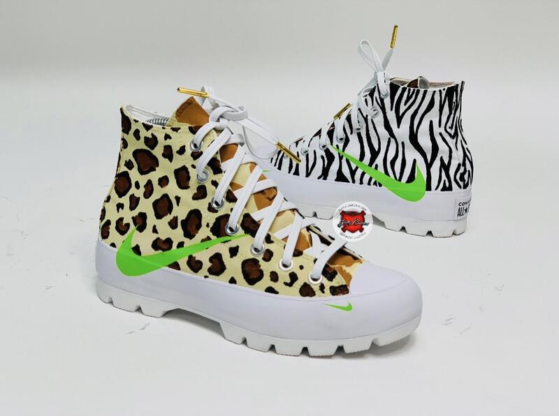 Animal Style Converse/Nike