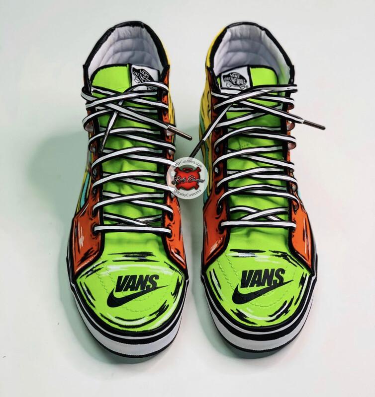 Sk8 High  Vans/Nike