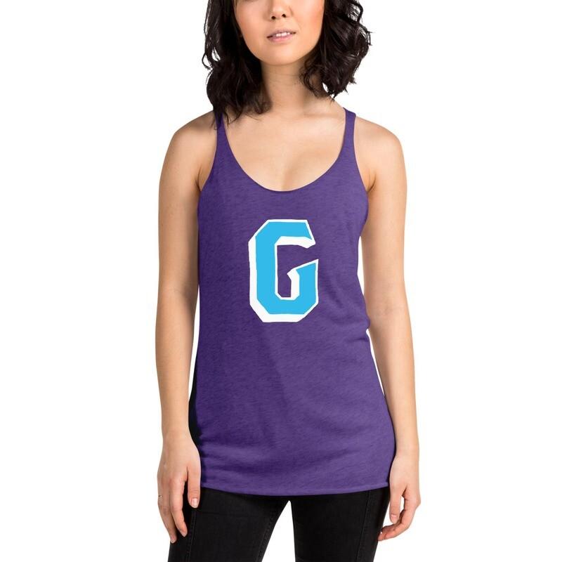 "GRIT ""Blue G | Flag"" Women's Tri-Blend Tank"
