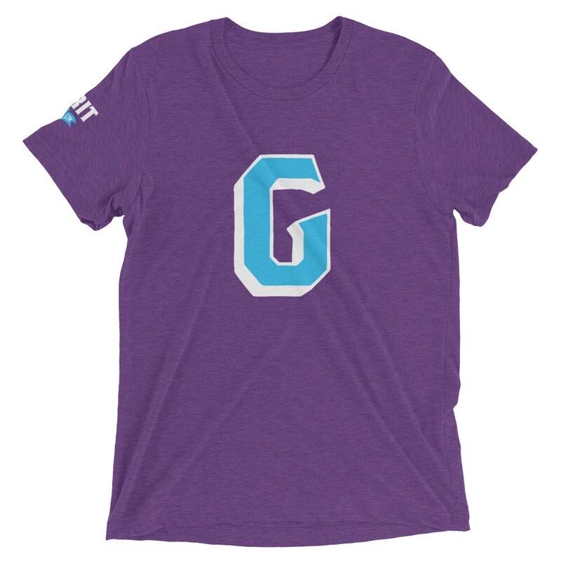 GRIT G Unisex Tri-Blend Tee (Blue G)