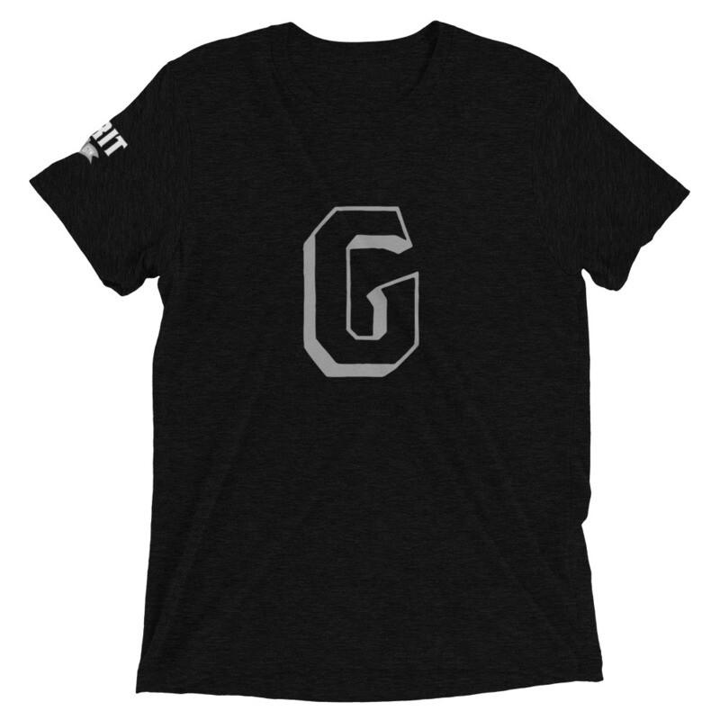 GRIT G Unisex Tri-Blend Tee (Gray G)