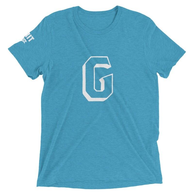 GRIT G Unisex Tri-Blend Tee (White G)