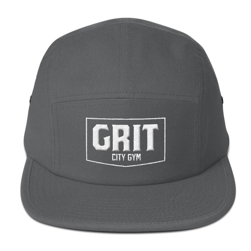 GRIT 3D Logo 5 Panel Outdoor Cap (Low Profile)