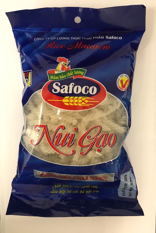 SAFOCO TWISTED RICE MACARONI 20X300G