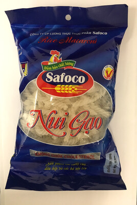 SAFOCO TWISTED RICE MACARONI 20X300G