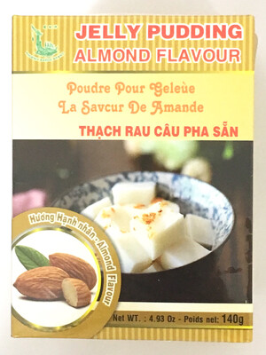 PHOENIX JELLY PUDDING ALMOND FLAVOUR 30BAGS X 140G