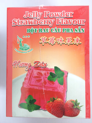 PHOENIX JELLY POWDER STRAWBERRY 30BAGS X 140G