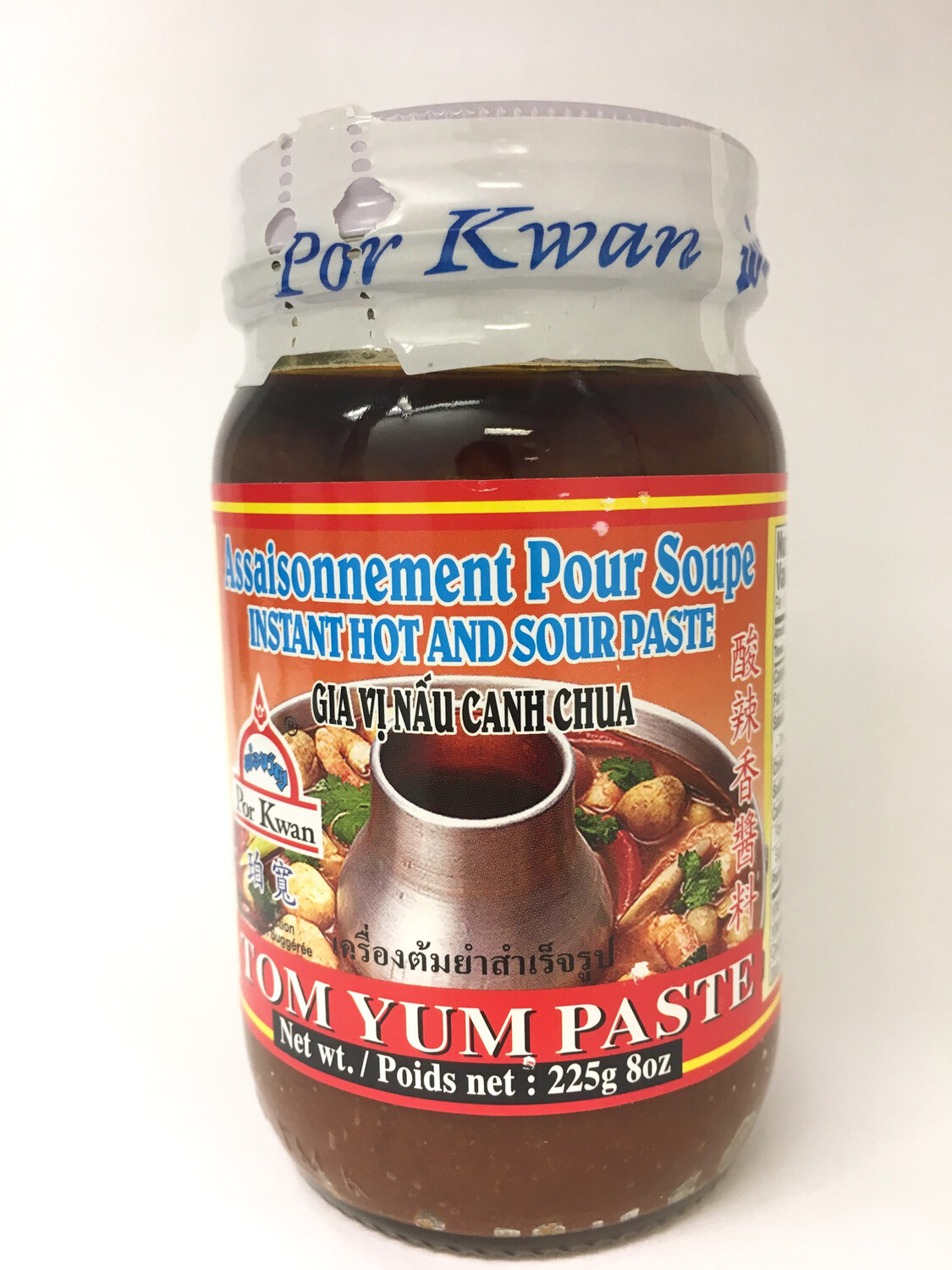 PORKWAN TOM YUM PASTE 24X225G
