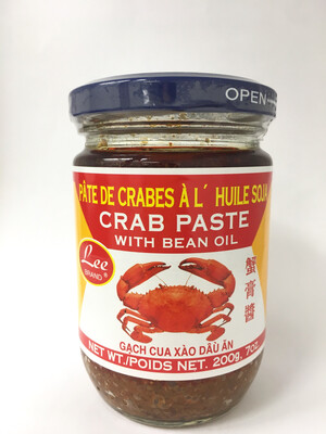 LEE CRAB PASTE WITH BEAN OIL 24X200G