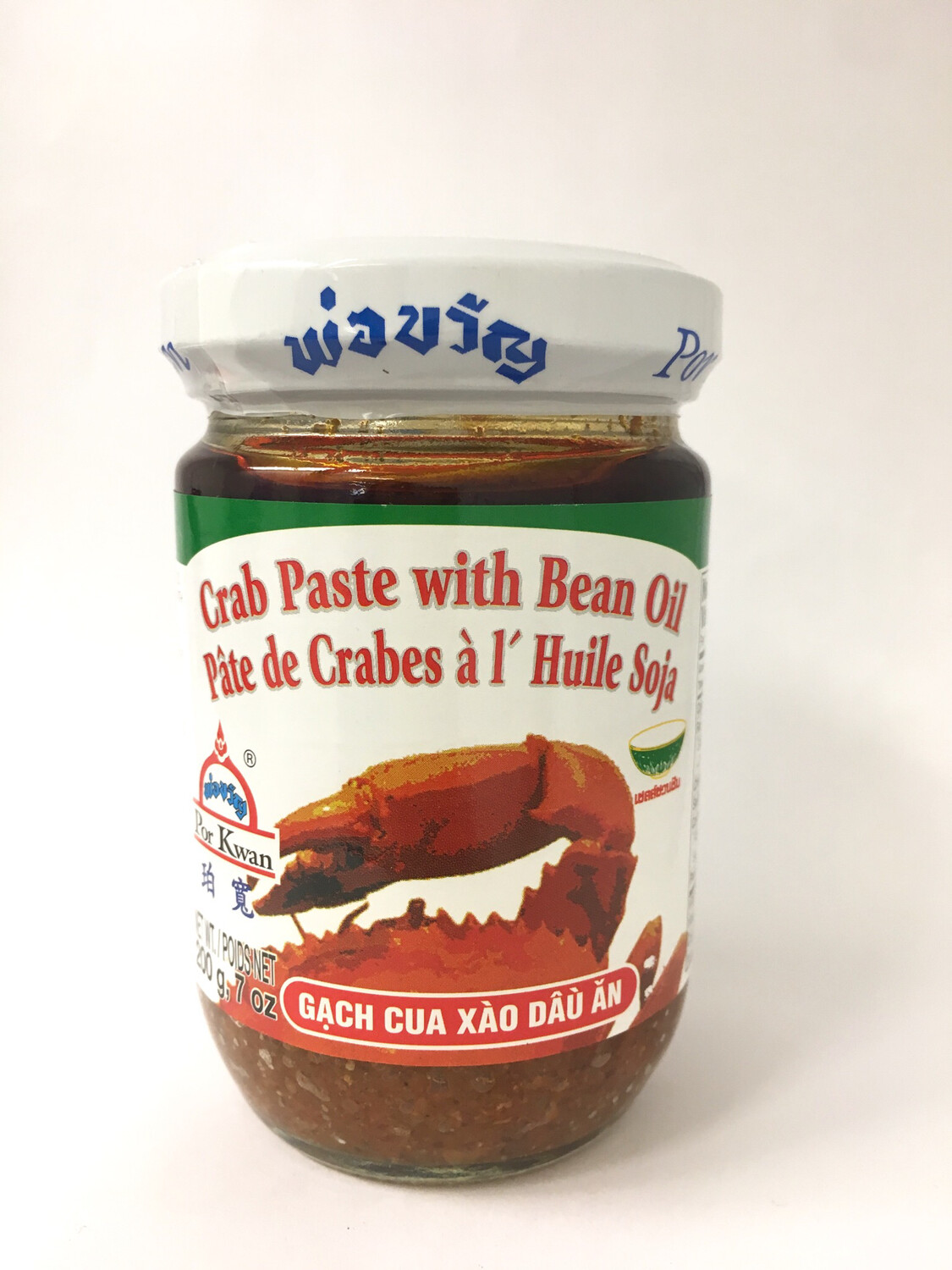 PORKWAN CRAB PASTE WITH BEAN OIL 24X7OZ