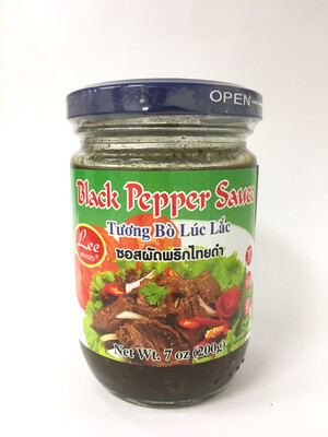 LEE BLACK PEPPER SAUCE 24X200G