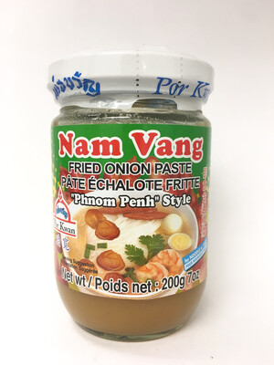 PORKWAN NAM VANG FRIED ONION PASTE 24X200G