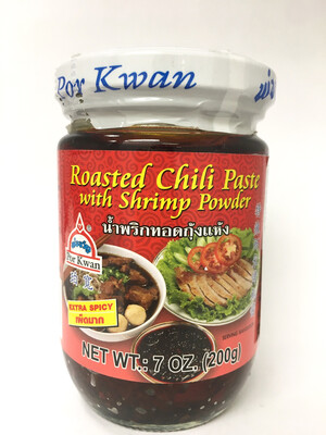 PORKWAN ROASTED CHILI PASTE WITH SHRIMP POWDER 24X220G